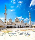 Fototapeta Sheikh Zayed Mosque, Abu Dhabi, United Arab Emirates