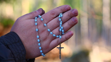Religious man with a rosary episode 1