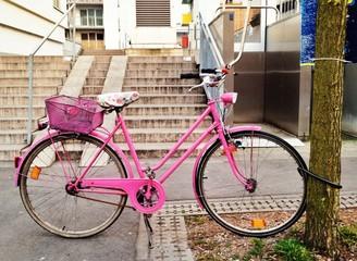 Fahrrad in Pink