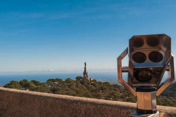 Mallorca Ausblick auf Christkönigmonument