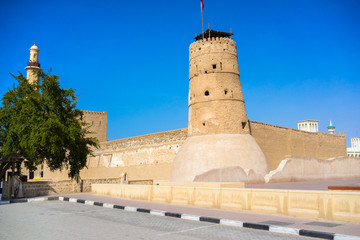 Al Fahidi Fort (1787), home to the Dubai Museum. UAE