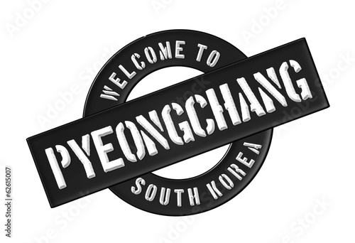WELCOME TO Pyeongchang