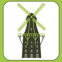 alte Mühle Windmühle Gallerieholländer Bremen