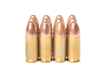 Twelve bullets caliber  9mm