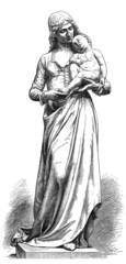 Mother & Child - Medieval