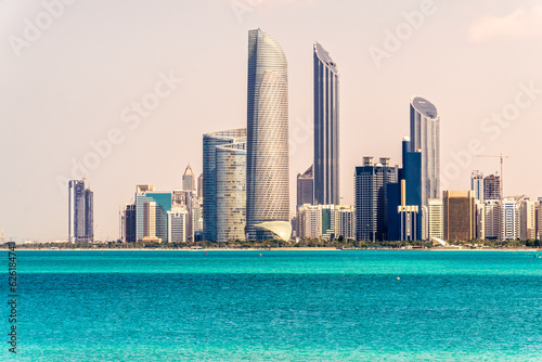 Abu Dhabi Skyline, United Arab Emirates - 62618474