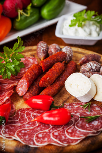Antipasti and catering platter