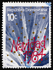 Postage stamp Dominican Republic 1984 Christmas