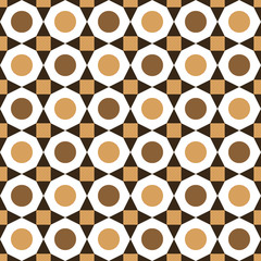 Seamless geometric pattern design