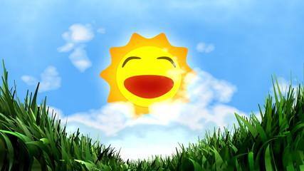 Sunny day.