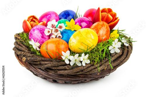 Leinwandbild Motiv Ostern - Dekoration