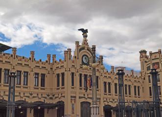 Estacion del Norte in Valencia, Spain.