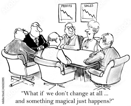 Executives would prefer to not change - 62622885