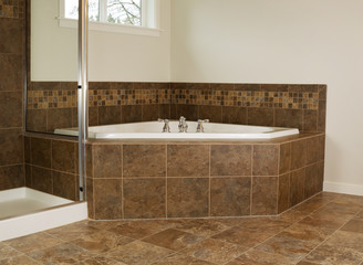 Master bathroom Soaking Tub