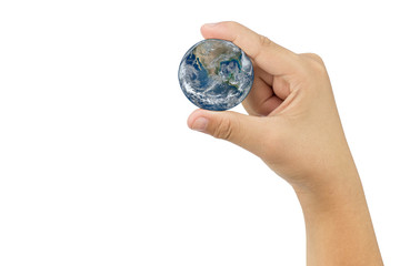 Hold the world earth
