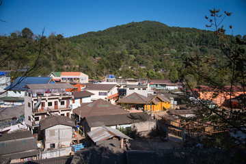 Ang Khang Village at Doi Ang Khang Chiang mai Thailand
