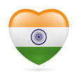 Heart icon of India
