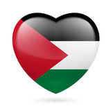 Heart icon of Palestine