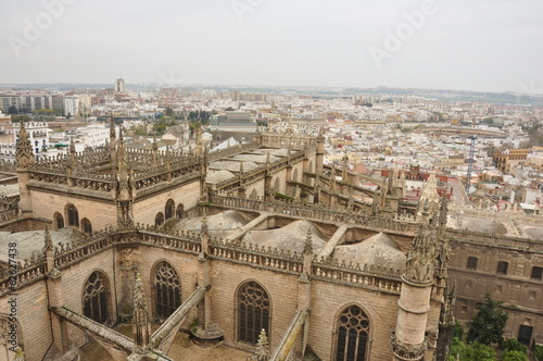 セビージャ大聖堂 Cathedral, Alcázar and Archivo de Indias in Seville