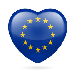 Heart icon of EU
