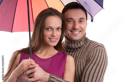 Portrait of happy couple