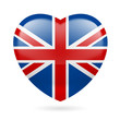 Heart icon of United Kingdom