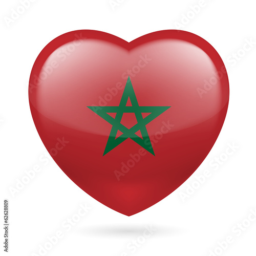 Heart icon of Morocco