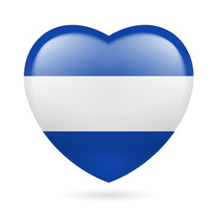 Heart icon of El Salvador