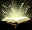 The magical rays of bible