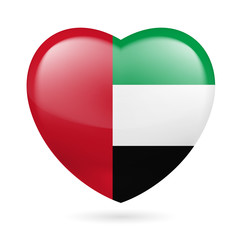 Heart icon of United Arab Emirates