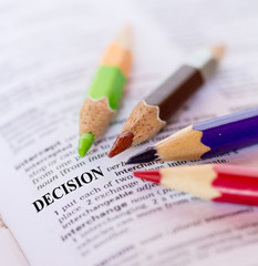 The word DECISION