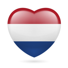 Heart icon of Netherlands