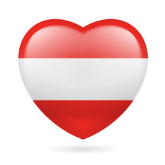 Heart icon of Austria