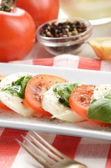 Classic caprese salad