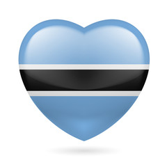 Heart icon of Botswana