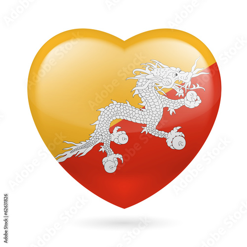 Heart icon of Bhutan