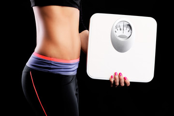 Perfect belly and bathroom scales