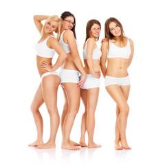 Sexy women posing in underwear