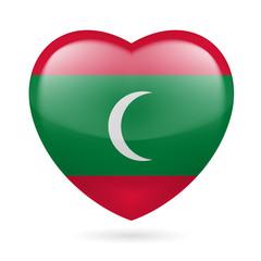 Heart icon of Maldives