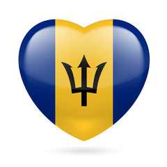 Heart icon of Barbados