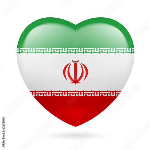 Heart icon of  Iran