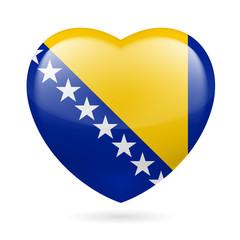 Heart icon of Bosnia and Herzegovina