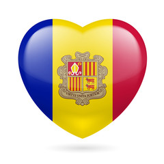 Heart icon of Andorra