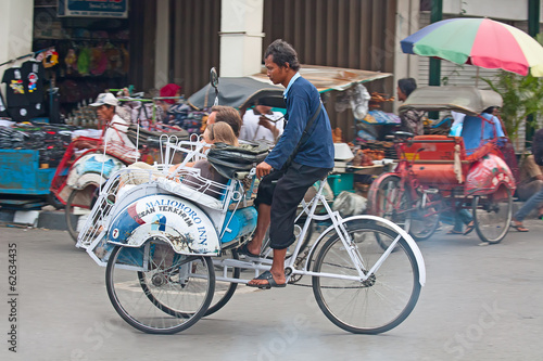 Bicycle rikshaw