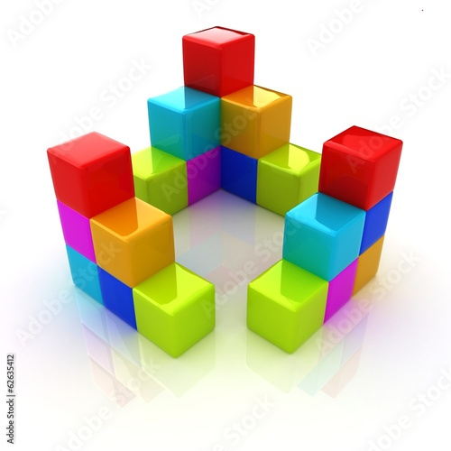 colorful block diagram