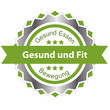 canvas print picture - Gesund und Fit