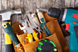 Leinwanddruck Bild - set of tools