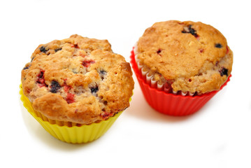 Gourmet Triple Berry Muffins