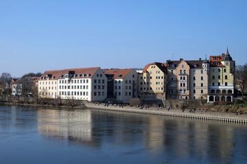 Donau in Regensburg