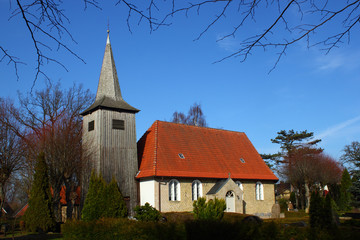Schifferkirche in Arnis